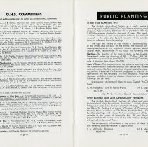 Image of GHS Committees; Public Planting, pp.30-1
