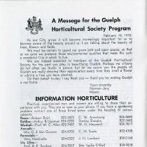 Image of Message for Guelph Horticultural Society, p.4