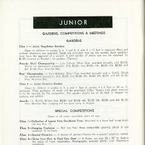 Image of Junior Gardens, Competitions & Meetings, p.38