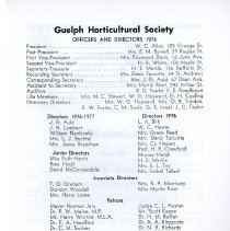 Image of Officers and Directors 1976, p.1