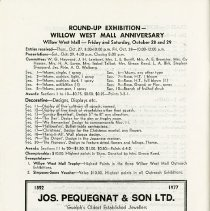 Image of Round-up Exhibition, Willow West Mall Anniversary, p.48