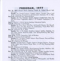 Image of Program 1977, p.7