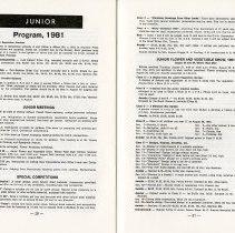 Image of Junior Program; Junior Flower and Vegetable Show, pp.20-21