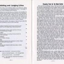 Image of Exhibiting & Judging Lilies; Flowering Trees, pp.16-17