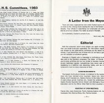 Image of G.H.S. Committees; Editorial, pp.2-3