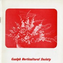 Image of Guelph Horticultural Society 1959 Annual