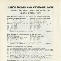 Image of Junior Flower and Vegetable Show, p.40