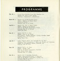 Image of Programme for 1962