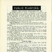 Image of Public Planting Programme for 1962, p.26