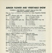 Image of Junior Flower & Vegetable Show, p.44