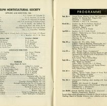 Image of Officers & Directors; Programme for 1963-64, pp.2-3