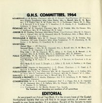 Image of Editorial and G.H.S. Committees, p.4