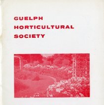 Image of Guelph Horticultural Society 1964 Annual, Rose Issue