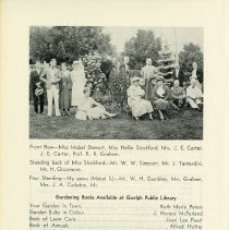 Image of Photgraph of Guelph Horticultural Society, p.26