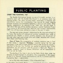Image of Public Planting Program, 1967, p.28