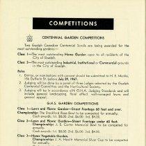 Image of Centennial Garden Competitions, p.32