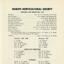 Image of Officers and Directors, 1967, p.1