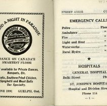 Image of Emergency Numbers and Hospitals, page 1