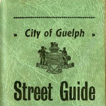 Image of City of Guelph Street Guide, 1948-49