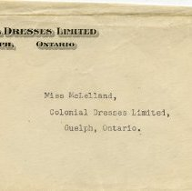 Image of Envelope, Colonial Dresses Limited