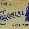 Image of Dress Label, Colonial Dresses Limited