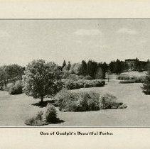 """Image of """"One of Guelph's Beautiful Parks,"""" page 12"""