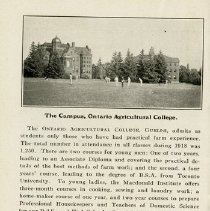 """Image of """"The Campus, O.A.C.,"""" page 18"""