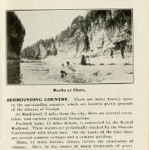 """Image of """"Rocks at Elora; The Ontario Provincial Winter Fair,"""" page 19"""