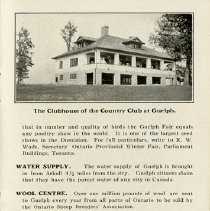 """Image of """"Clubhouse of the Country Club at Guelph,"""" page 21"""