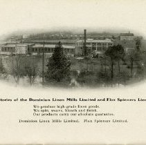 Image of Factories of Dominion Linen Mills Limited & Flax Spinners Limited, 1919