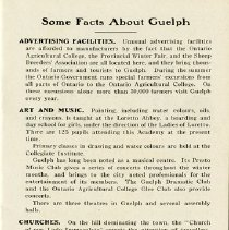 """Image of """"Some Facts about Guelph,"""" page 7"""