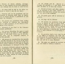 Image of Rules Concerning Visitors (Continued), pp.26-27