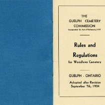 Image of Rules and Regulations Adopted after Revision, Sept. 7, 1934