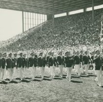 Image of Red Chevron Club Drill Team