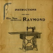 Image of Title Page of Instruction Book, 1907