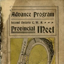 Image of Advance Program, 2nd Ontario C.W.A. Provincial Meet, Guelph, 1899