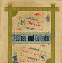 Image of Guelph Mercury Calendar, 1886