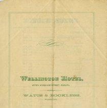 Image of Wellington Hotel, Watts & Bookless, Proprietors
