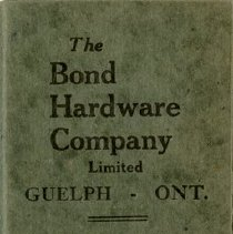 Image of Bond Hardware Co. Ltd. Notebook