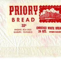 Image of Priory Bread Plastic Bag