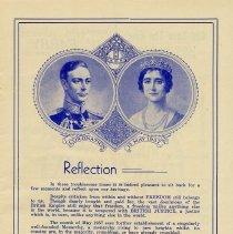 "Image of ""Coronation, May 12, 1937,"" page 1"