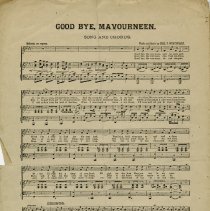 "Image of ""Good Bye, Mavourneen"" Song and Chorus, p.2"