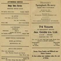 Image of Advertisements, pages 22 and 23