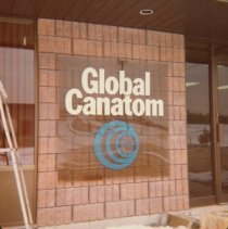 Image of Global Canatom Sign