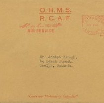 Image of Next-of-kin Pamphlet, Envelope, April 6, 1944
