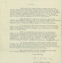 Image of RCAF Letter Death of G. Clough pg. 2