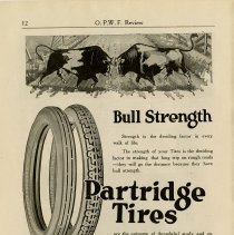 Image of Advertisement, F.E. Partridge Rubber Co., Limited, Gueph