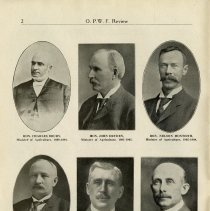 Image of Ministers of Agriculture, 1893 - 1919, page 2