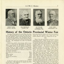 Image of History of the Ontario Provincial Winter Fair, page 3
