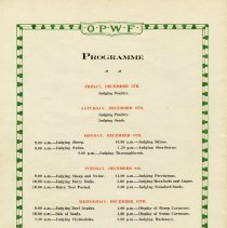 Image of Programme, December 5th -11th, 1919, back cover